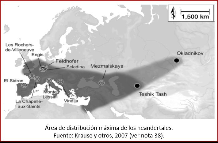 Blog 1603XX - Distribución de neandertales