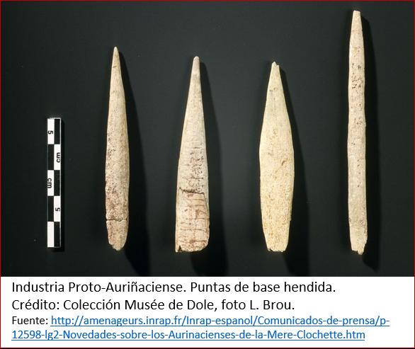 Blog 1605XX - Ocaso de los neandertales 1 - proto-auriñaciense