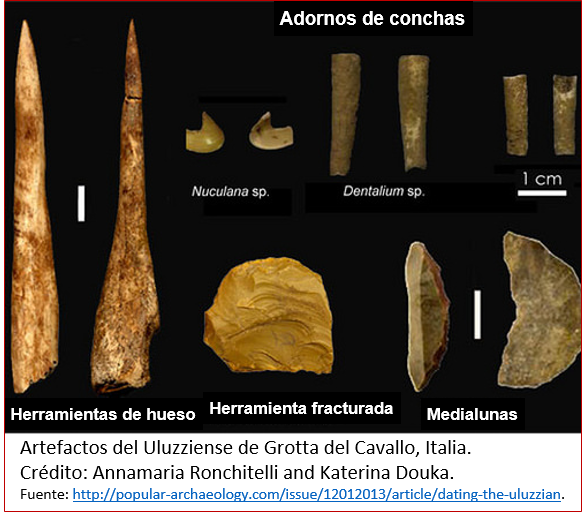 Blog 1605XX - Ocaso de los neandertales 1 - uluzziense