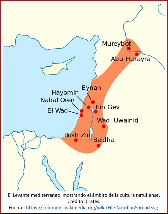 Blog 191027 - Revolución neolítica 1 - mapa