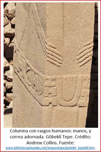 Blog 2005xx - Revolución neolítica 7 - columna Göbekli Tepe