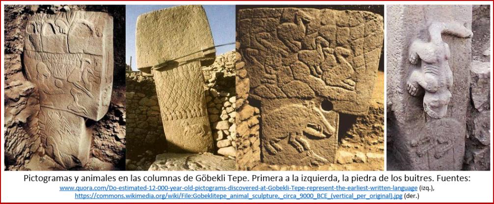 Blog 2005xx - Revolución neolítica 7 - pictogramas Göbekli Tepe